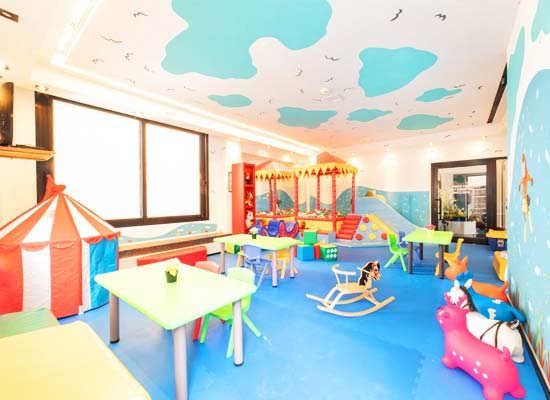 Children's area in the hotel