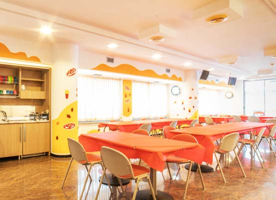 The kids restaurant